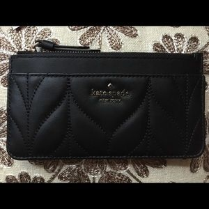Kate Spade BLACK Large Slim Cardholder Briar Lane